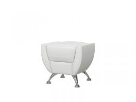 Банкетка Лилиана 6-5120 кожзам белый