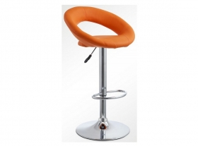 Барный стул BN 1009-1 Оранжевый