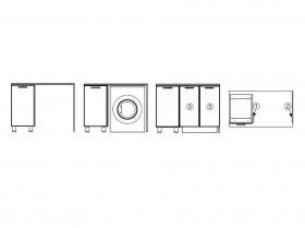 Боковая стенка БС824-100 СВ 824х540