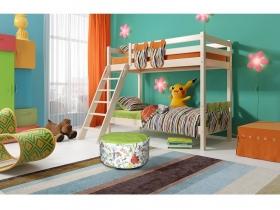 Детская кровать Соня двухъярусная с наклонной лестницей Вариант 10