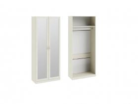 Детская Лючия Шкаф для одежды с 2-мя зеркальными дверями СМ-235-22-02 2161х895х429