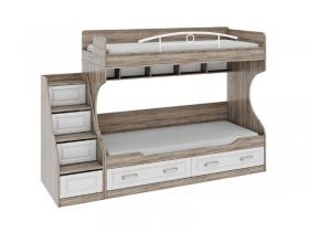 Детская Прованс Трия Двухъярусная кровать лестница приставная СМ-223.11.001 1711х2526х862мм