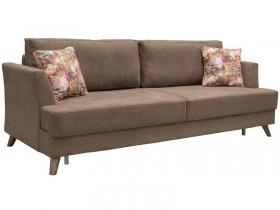Диван-кровать Дамаск арт. ТД-213 коричневый