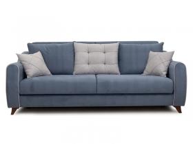 Диван-кровать Френсис арт. ТД-263 серо-синий