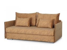 Диван-кровать Том вариант 3 Желтый велюр