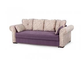 Диван-кровать Цезарь Вариант 1 Фиолетовый велюр