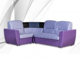 Диван угловой Мария Marco Polo Lavander-кожзам Рикс purple