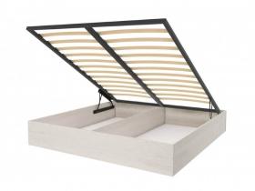 Короб для кровати с подъемным механизмом Лозанна СТЛ.223.06 Дуб белый ШхВхГ 1590х255х1665 мм