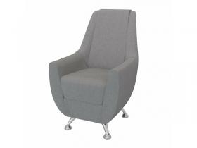 Кресло-банкетка Лилиана 6-5121ТК ткань серая