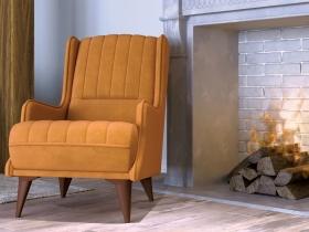 Кресло для отдыха Болеро арт. ТК-169 шафрановый