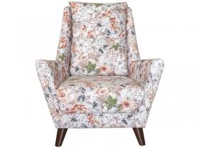 Кресло для отдыха Дали арт. ТК-228 коричневые цветы