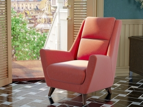 Кресло для отдыха Дали арт. ТК-230 коралловый