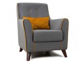 Кресло для отдыха Френсис арт. ТК-259 кварцевый серый