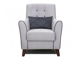 Кресло для отдыха Френсис арт. ТК-264 светло-серый