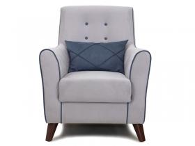 Кресло для отдыха Френсис арт. ТК-266 светло-серый