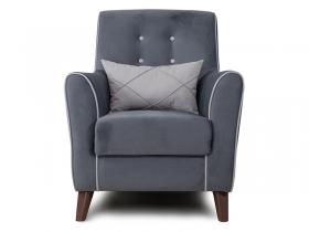 Кресло для отдыха Френсис арт. ТК-267 темно-серый