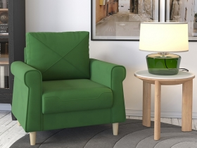 Кресло для отдыха Иветта арт. ТК-356 лиственный зеленый