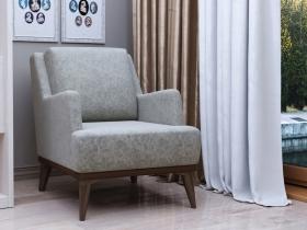 Кресло для отдыха Концепт арт. ТК-131 серебристый серый