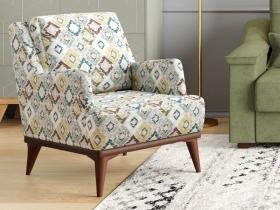 Кресло для отдыха Концепт арт. ТК-139 Ромбы цветные