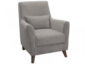 Кресло для отдыха Либерти арт. ТК-224 светлый кварцевый серый