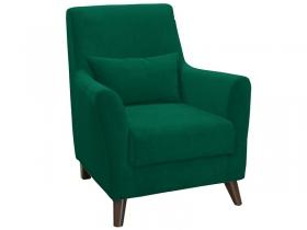 Кресло для отдыха Либерти арт. ТК-227 темно-зеленый малахитовый
