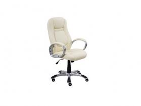 Кресло для руководителя Gloria PVN11 PU02 экокожа молочная