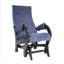 Кресло-глайдер модель 708 Verona Denim blue венге