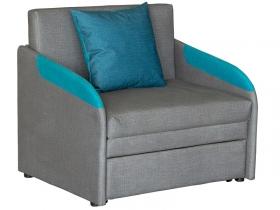 Кресло-кровать Громит арт. ТД-133 кварцевый серый