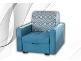Кресло-кровать Лайф Д1 Baltik Azure-Lugano 1