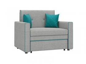 Кресло-кровать Найс арт. ТД-112 серебристый серый