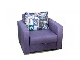 Кресло-кровать Соната ЕД1 Baltic Violet-gentle М 128-3 серый