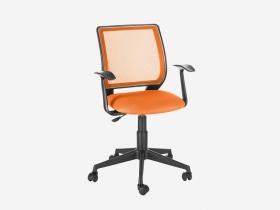 Кресло офисное Эксперт Т-эрго ткань TW-14 оранжевая