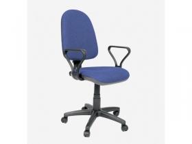 Кресло офисное Престиж Самба В-12 темно-синий