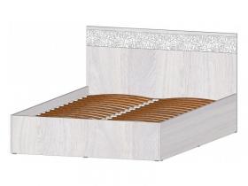 Кровать 1400 с ПМ Фиеста анкор светлый