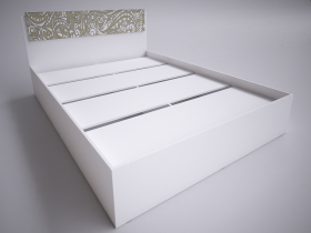 Кровать 1,6 Селена ШхВхГ 1640х882х2052 мм