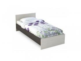 Кровать 900 Бася КР-555 венге-белфорт