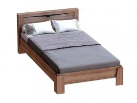 Кровать 900 Соренто Дуб стирлинг с ортопедическим основанием