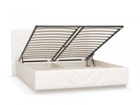 Кровать Амели 11.16 с подъемным механизмом Шелковый камень