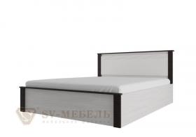Кровать двойная 140-200 Гамма 20 венге-сандал