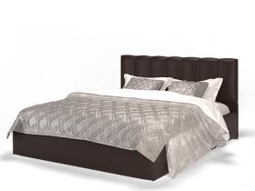 Кровать Элен коричневая с подъемным механизмом