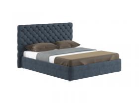 Кровать Эстель Велюр Антрацит с подъемным механизмом