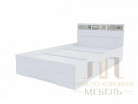 Кровать Николь-1 со стеклами 1200х2000 ШхВхГ 1232х850х2032 мм