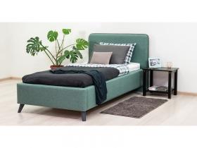 Кровать односпальная Миа 90 с подъемным механизмом изумрудный