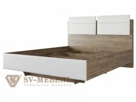 Кровать с ортопедическим основанием Комфорт Лагуна-8 Спальное место 1400х2000 ШхВхГ 1433х1130х2138 мм