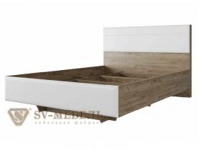 Кровать с ортопедическим основанием Люкс Лагуна-8 Спальное место 1400х2000 ШхВхГ 1433х1030х2138 мм