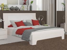 Кровать с ортопедическим основанием Пэшн Бодега белая-Prona 2655