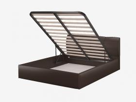 Кровать с подъемным механизмом Ривьера 1600 Лесмо brown коричневый