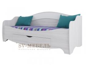 Кровать с ящиком Акварель 1 СВ