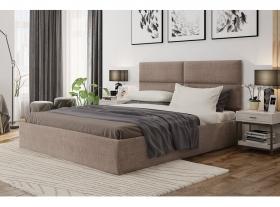Кровать СИТИ бежевая 1600