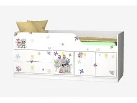 Кровать Смарти-3 Совята 800х1900 мм